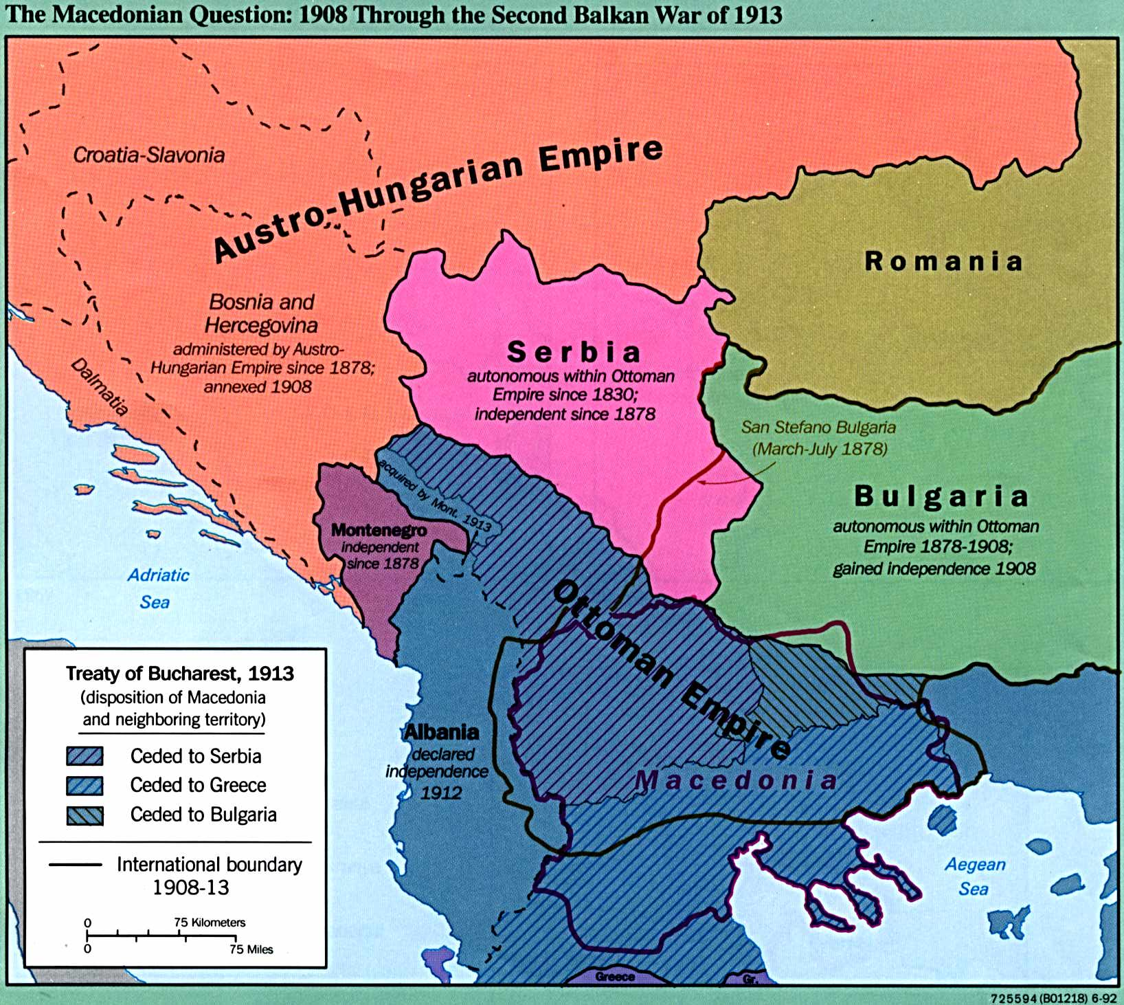 Review of the sleepwalkers how europe went to war in 1914 by in between two opportunistic wars dismantle what remains of ottoman europe macedona sciox Images
